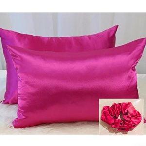 1 Pillowcase & 1 scrunchie bundle